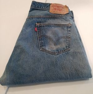 Levi's 501XX Red Tab Jeans 38 x 36